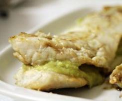 Filetes de Pescada Recheados Com Esparregado de Feijão Verde