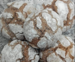 Crinkle de chocolate