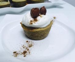 Muffins de aveia e avelã