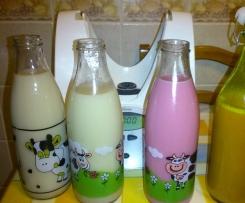 Leite de soja aromatizado