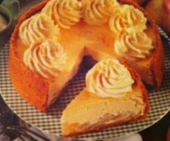 Cheesecake de Pêra e Gengibre