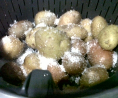 Entrecosto grelhado com molho agridoce e batata a murro