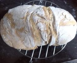 Pão com soro do queijo fresco