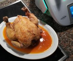 Frango Sentado com Laranja