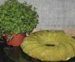 Bolo de espinafres