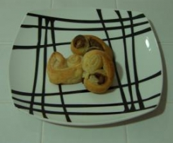 Palmiers de chocolate