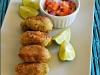 Pataniscas de grão-de-bico