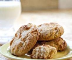 Biscoitos de Tangerina e Gengibre