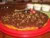 Tarte de Cenoura com cobertura de Chocolate