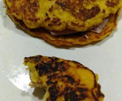 Panquecas de milho (Venezuelanas) / Cachapas