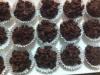 Beijinhos crocantes de chocolate