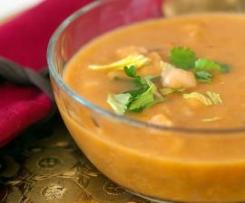 Sopa vegetariana para o Ramadão