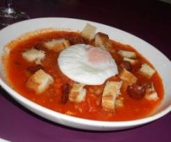 Sopa de tomate à Alentejana