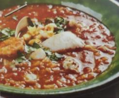 Sopa de Peixe - Curso de Cozinha Bimby