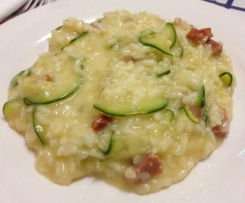 Risotto de courgette