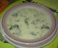 Sopa de couve-flor e nabiças (Revista MP - janeiro 2013)