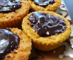 Queques de cenoura e chocolate: um snack delicioso e saudável