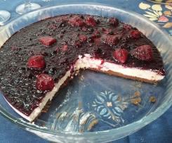 Cheesecake de Frutos Vermelhos/Silvestres