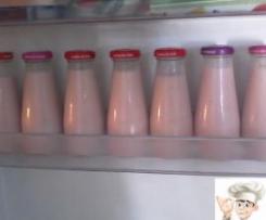 Iogurtes Líquidos de Morango