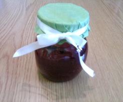 compota de maçã com canela
