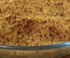 Bacalhau com broa de milho e espinafres (variante)