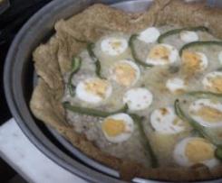 Tarte de carne com ovo
