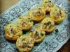Pêssegos recheados com cuzcus e atum