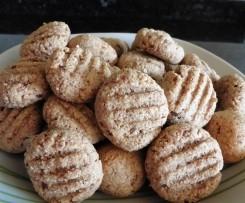 Biscoitos de Aveia e Amêndoa sem açucar