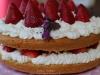 Naked Cake de Amêndoa com Morangos