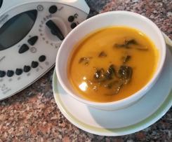 Sopa de Espinafres sem batata
