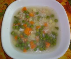 Sopa de Legumes Salteados