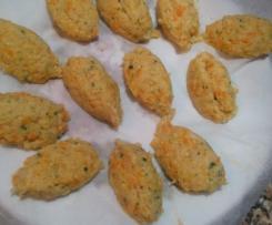 Croquetes de pescada sem batata