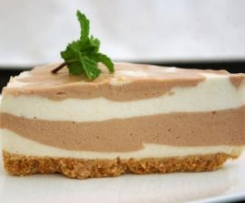 Cheesecake de chocolate e Baileys