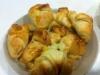 Croissants de queijo e fiambre / Chocolate