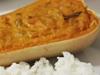 Abóbora Manteiga Recheada com Bacalhau