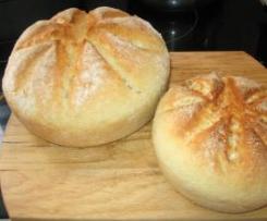 Pão milagre (sem levedar)