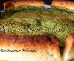 Quiche de Pão de Forma com Espinafres