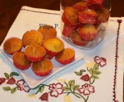 Queques de cenoura húmidos