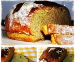 Pão de Abóbora com Nozes
