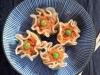 Ravioli de camarão ao vapor