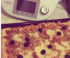 Pizza Frango Saudável