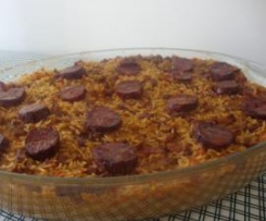 "Arroz de ""Pato Fingido"""