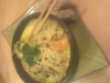 Caril chinês de frango e legumes