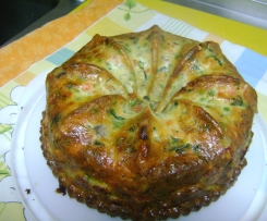 QUICHE DE LEGUMES E DELICIAS DO MAR