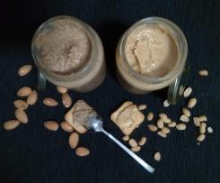 Manteiga de Oleaginosas (Amêndoa e Amendoim)