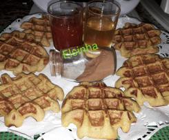 Waffles de abóbora, banana e aveia(sem glúten, sem lacticínios e sem açúcar)