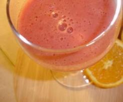 Néctar de romã e tangerina