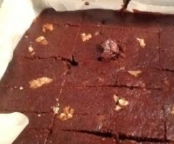 Brownie com nozes light