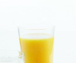 Néctar de manga laranja
