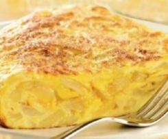 Variante Tortilla Espanhola de Batata